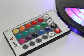 LED-Band / Streifen / Strip mit Fernbedienung.